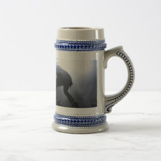 Scream it out! beer stein