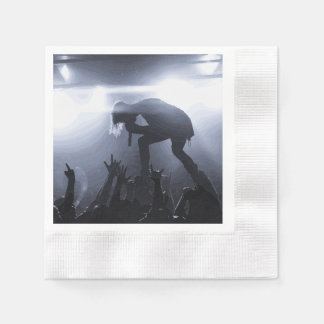 Scream it out! disposable napkin