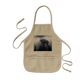 Scream it out! kids apron