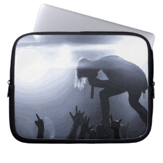 Scream it out! laptop sleeve