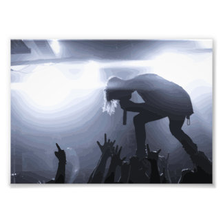 Scream it out! photo print