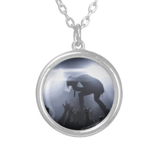 Scream it out! silver plated necklace