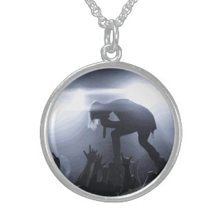 Scream it out! sterling silver necklace