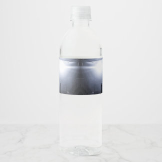 Scream it out! water bottle label