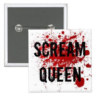 Scream Queen Pinback Buttons