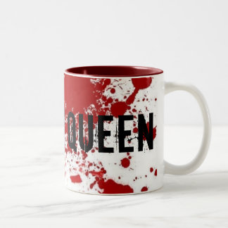 Scream Queen Two-Tone Coffee Mug