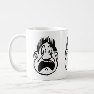 Scream With Hair Straight UP Coffee Mug