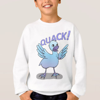 Screaming Duck Doodle Noodle Designs Sweatshirt