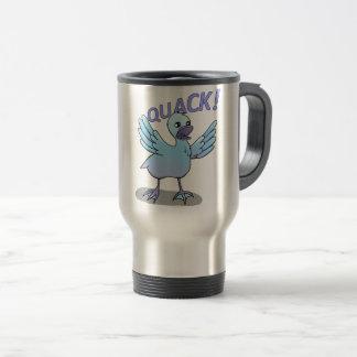Screaming Duck Doodle Noodle Designs Travel Mug