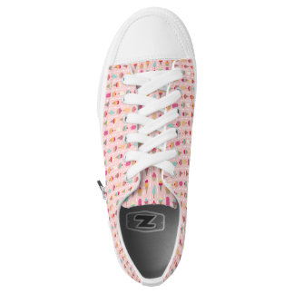 Screaming for Ice Cream Printed Shoes