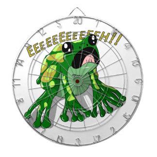 Screaming Frog Doodle Noodle Design Dartboard