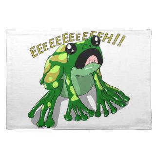 Screaming Frog Doodle Noodle Design Placemat