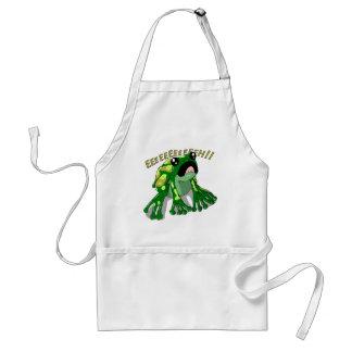 Screaming Frog Doodle Noodle Design Standard Apron
