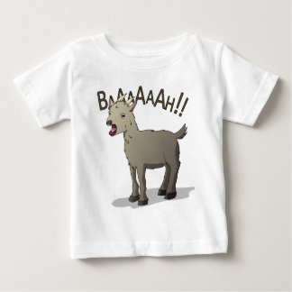Screaming Goat Doodle Noodle Designs Baby T-Shirt