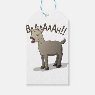Screaming Goat Doodle Noodle Designs Gift Tags