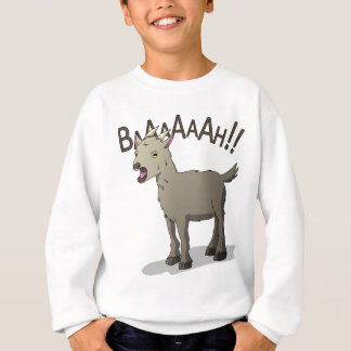 Screaming Goat Doodle Noodle Designs Sweatshirt