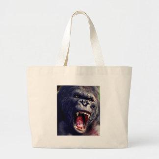 Screaming Gorilla Jumbo Tote Bag