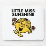 Screaming Little Miss Sunshine Mouse Pad