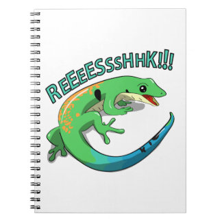 Screaming Lizard Doodle Noodle Design Notebook