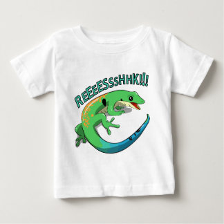Screaming Lizard Doodle Noodle Designs Baby T-Shirt