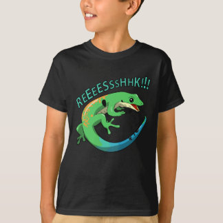 Screaming Lizard Doodle Noodle Designs T-Shirt