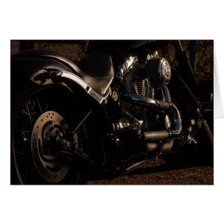 Screaming Loud Pipes Motorcycle Birthday Card