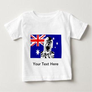 Screaming Man Australia T Shirt
