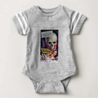 Screaming Skull Baby Bodysuit