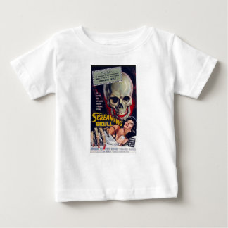 Screaming Skull Baby T-Shirt