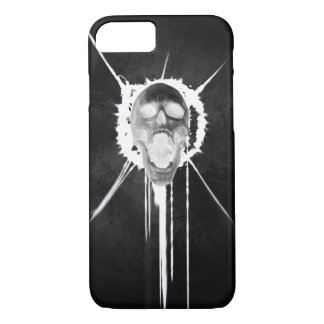 Screaming Skull (Black Inverted) Iphone Case