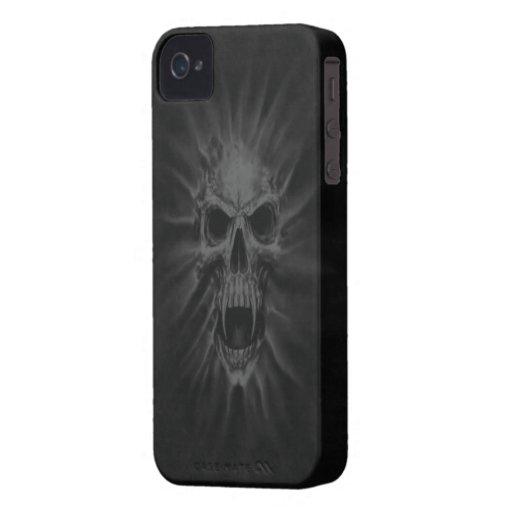 Screaming Skull BlackBerry Bold Case