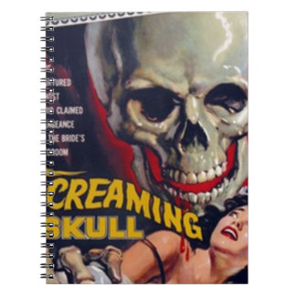 Screaming Skull Notebooks