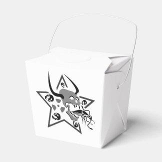 Screaming Skull Pentagram Favour Box
