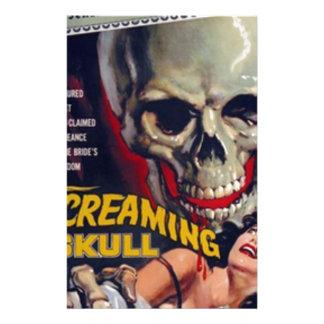 Screaming Skull Stationery