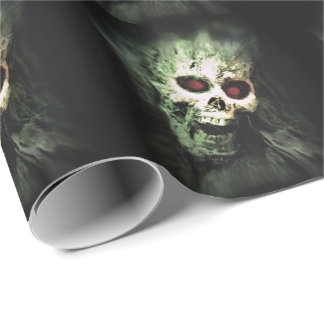 SCREAMING (skull) ~ Wrapping Paper