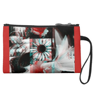 Screaming Suede Wristlet