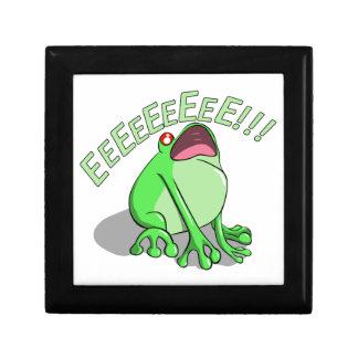 Screaming Tree Frog Doodle Noodle Design Gift Box