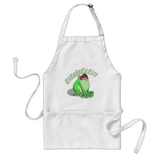 Screaming Tree Frog Doodle Noodle Design Standard Apron