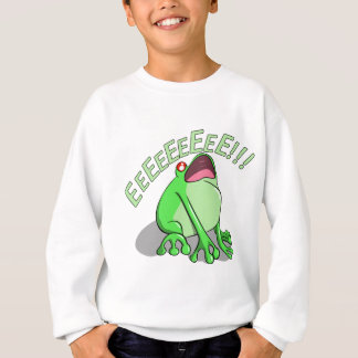 Screaming Tree Frog Doodle Noodle Designs Sweatshirt