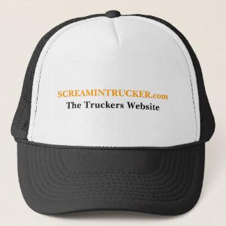 SCREAMINTRUCKER.com, The Truckers Website Trucker Hat