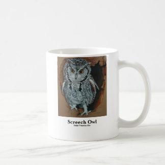 Screech Owl Artwork Mug