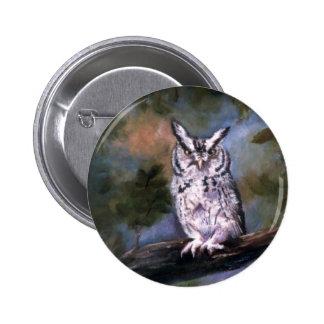 Screech Owl Pins
