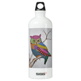 Screech Owl bold color SIGG Traveller 1.0L Water Bottle