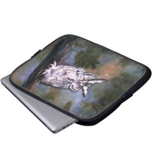 Screech Owl Laptop Sleeve