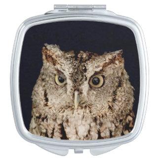 Screech Owl Mirror For Makeup