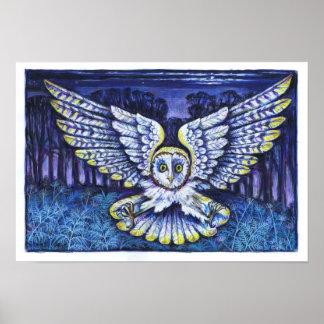 Screech Owl Print