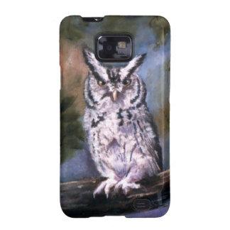 Screech Owl Samsung Galaxy SII QPC Galaxy S2 Cases