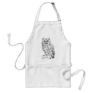 Screech Owl Standard Apron