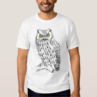 Screech Owl T Shirt