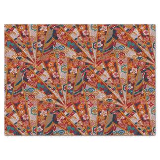 "Screens Oriental Fabric 17"" X 23"" Tissue Paper"